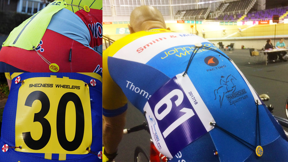 EventClips® - Pinless Bib Number Fasteners for Cyclists